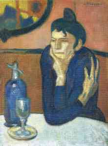 The Absinthe Drinker - Pablo Picasso